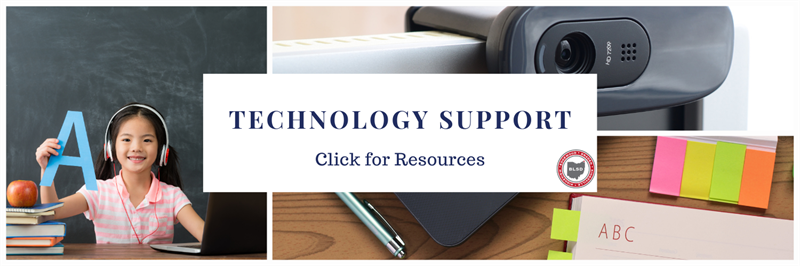 Technology Support - Click for Resources